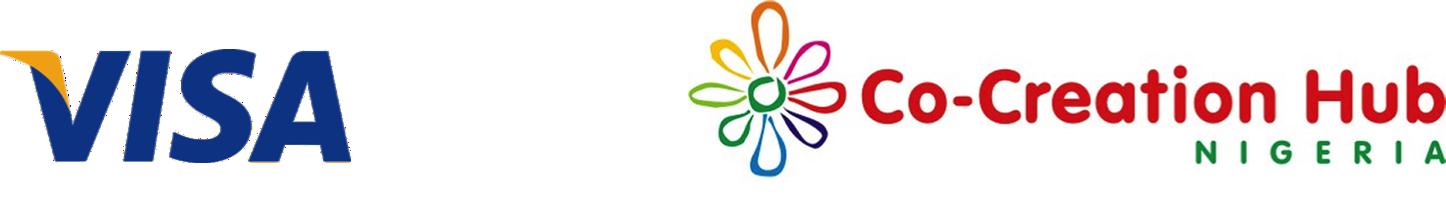 Logos of Visa and CcHub