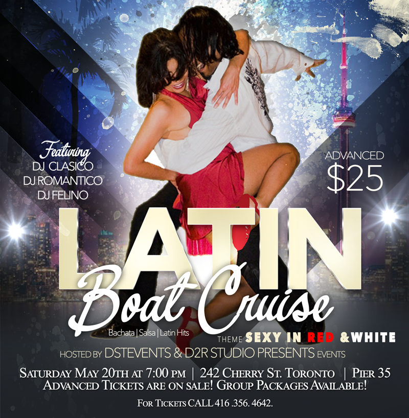 DSTEVENTS LATIN BOAT CRUISE