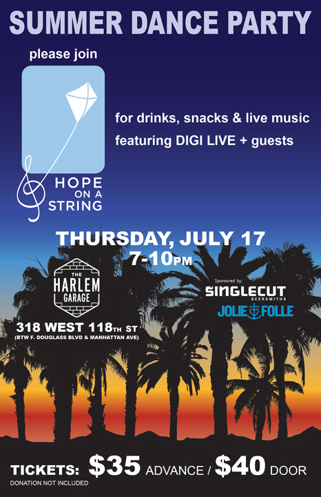 HOAS Summer Dance Party Flyer