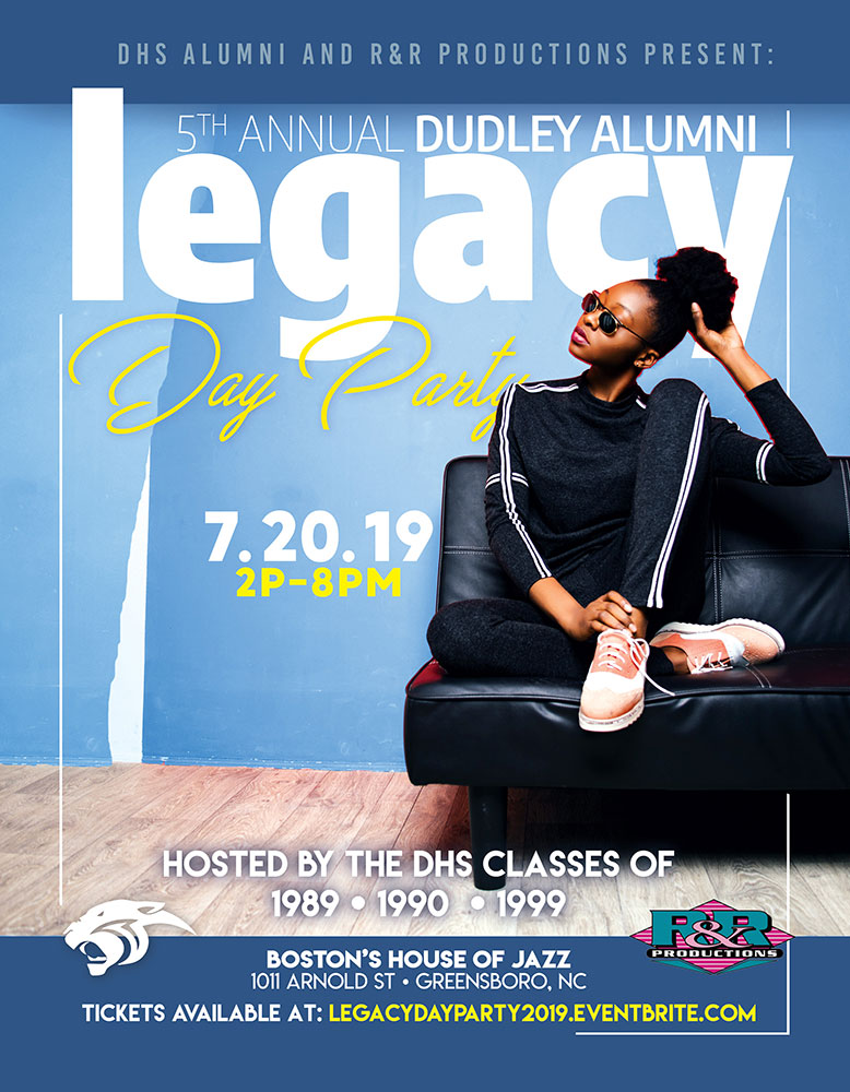 5th Annual Dudley Alumni Legacy Day Party