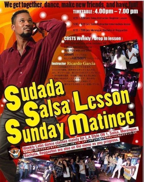 Salsa and Bachata lessons