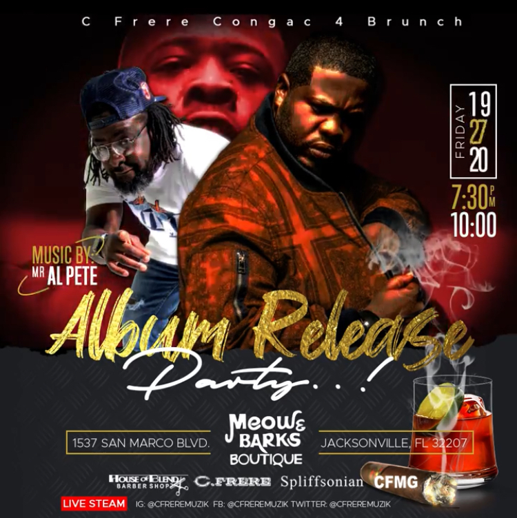 C. FRERE + Mr. AL PETE for release party