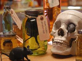 Halloween Specimen Jar