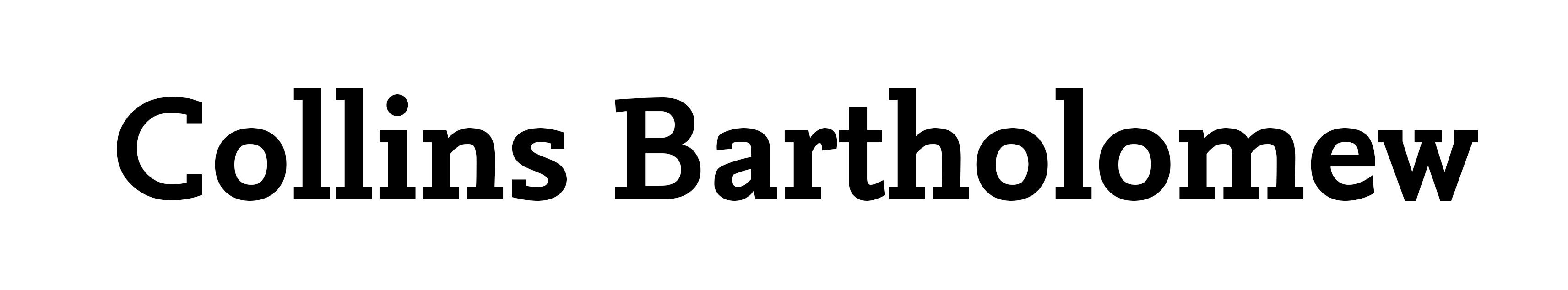 Collins Bartholomew logo