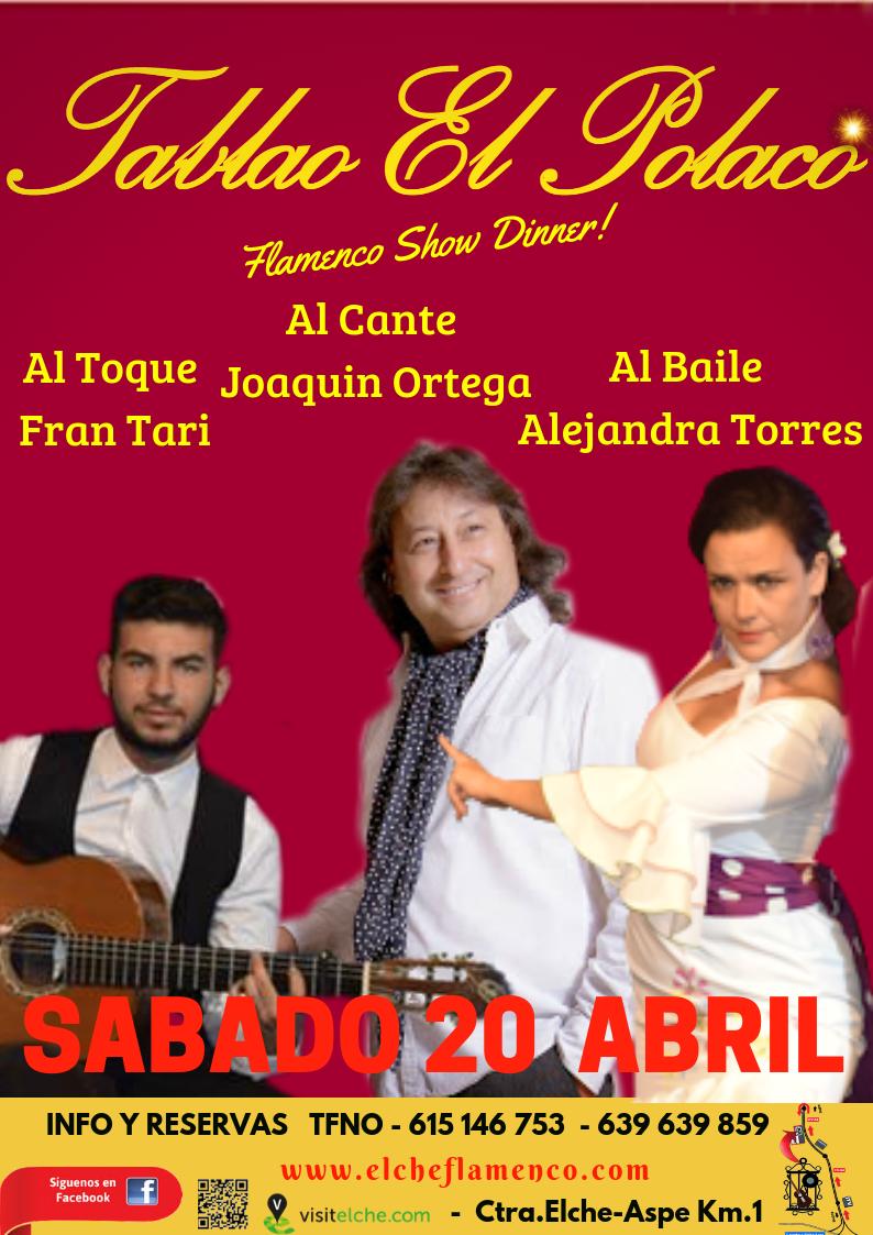 Flamenco Show dinner in elche
