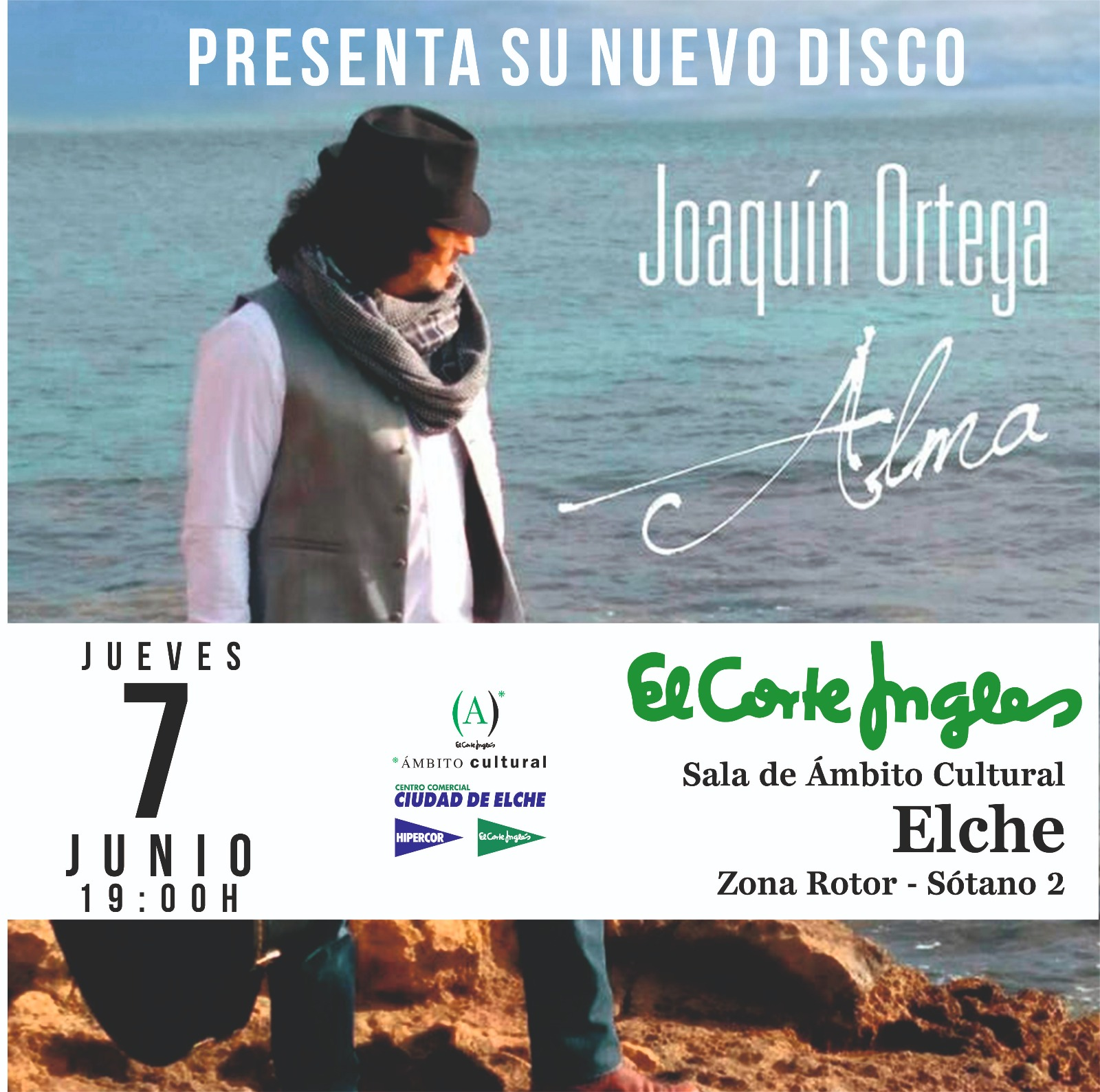 PRESENTACION DISCO JOAQUIN ORTEGA ELCHE