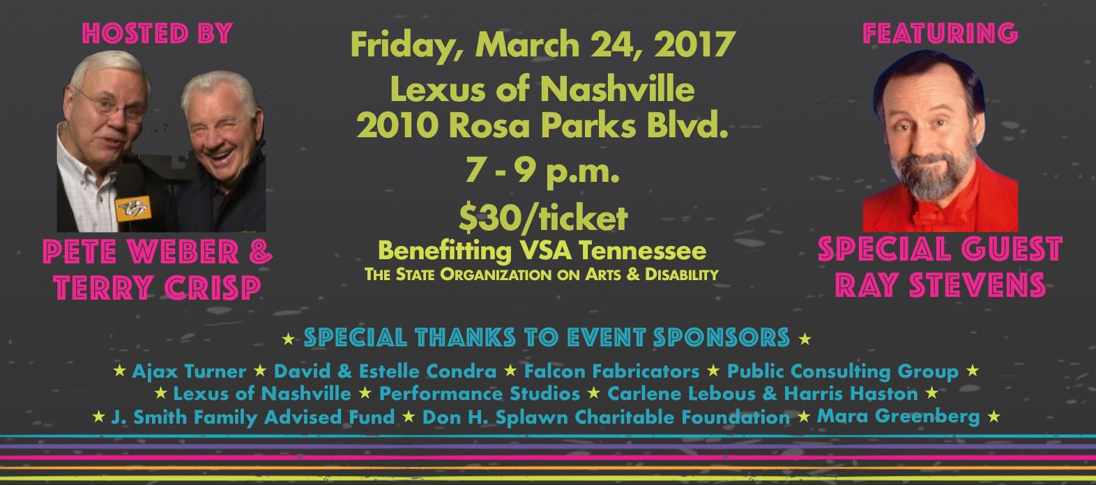 VSA Spring Event Invitation 2017 Get details below