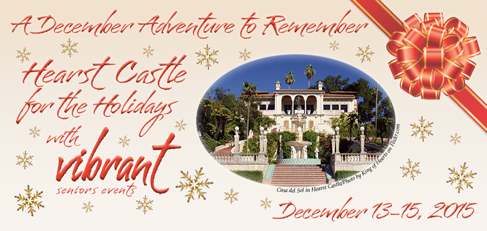 Hearst Castle for the Holidays