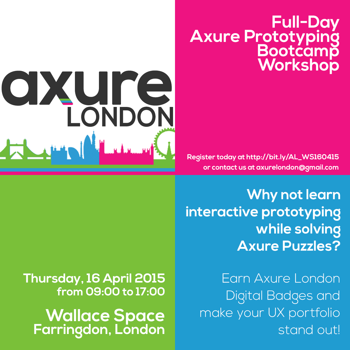 Axure London Workshop