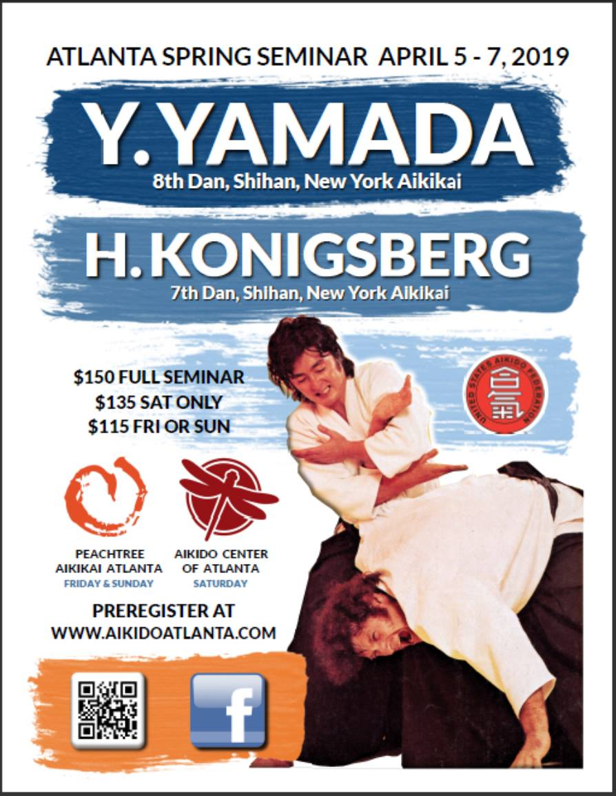 Annual Spring Seminar with Yamada Shihan and Harvey Konigsberg Shihan April 2019