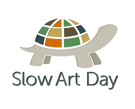 slow art day logo