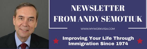 Newsletter on Immigration