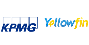 Yellowfin & KPMG Sponsors