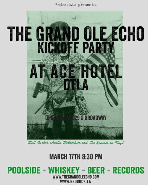 Grand Ole Echo Kickoff at Ace DTLA
