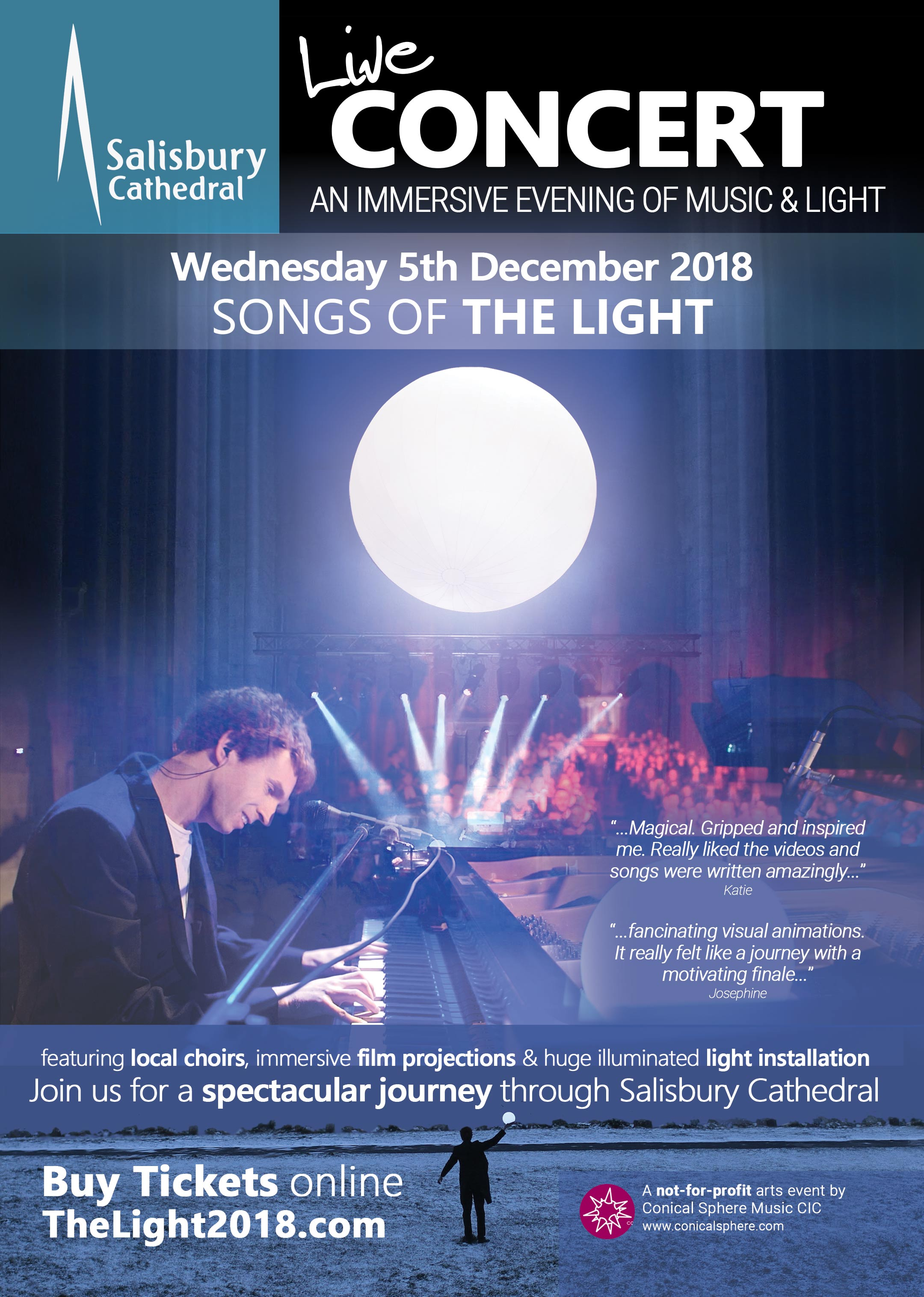 Poster for Songs of The Light