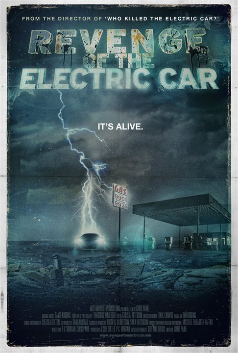 Revenge of the Electric Car - Movie Poster