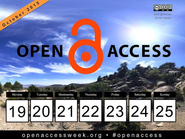 Open Access Week 2015 SF