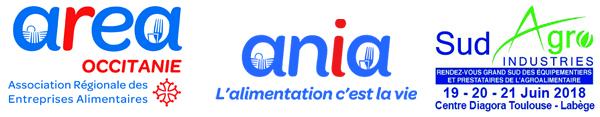 Logos Ania, Area Occitanie et Sud-Agro Industries