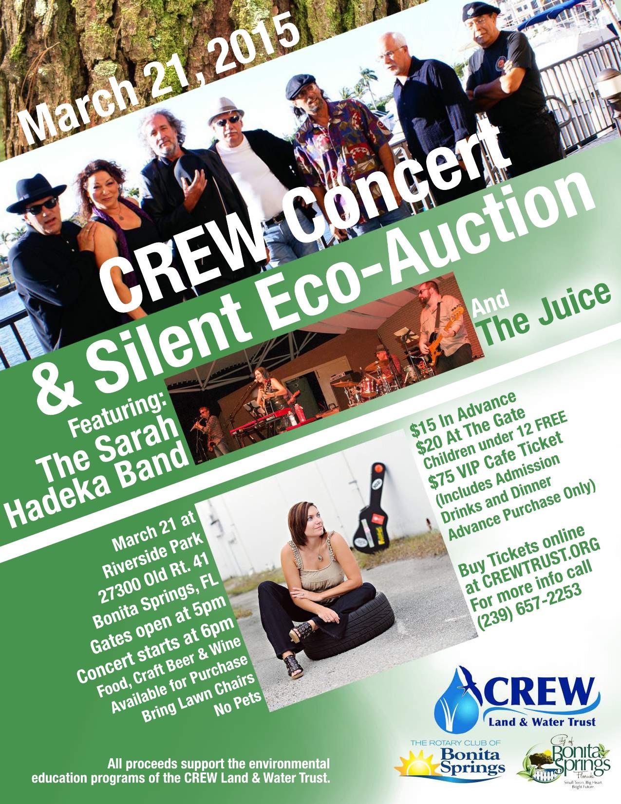 2015 CREW Concert Flyer