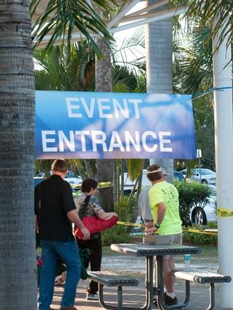 Concert entrance