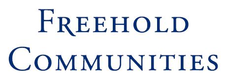 Freehold Communities