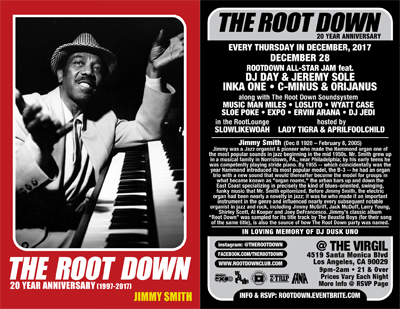 ROOT DOWN ALL STARS