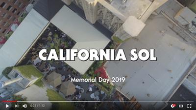 CALIFORNIA SOL Memorial Day 2019