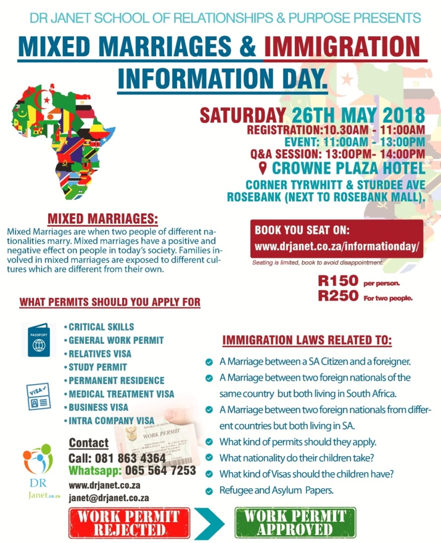 MIXED MARRIAGES & IMMIGRATION INFORMATION DAY