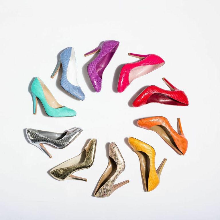 Shoes of Prey snakeskin pumps
