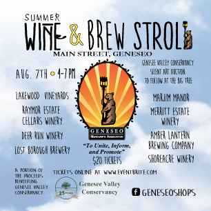 Summer Wine & Brew Stroll
