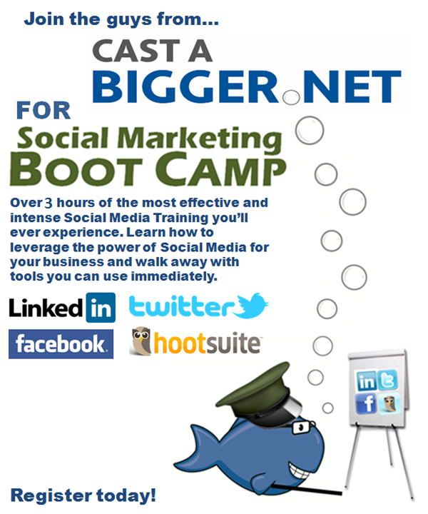 Join the guys from Cast A Bigger Net for over 3 hours of social media training