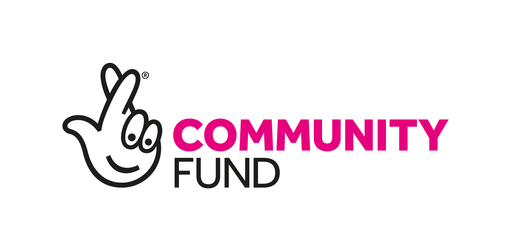 logo for Community Fund, National Lottery