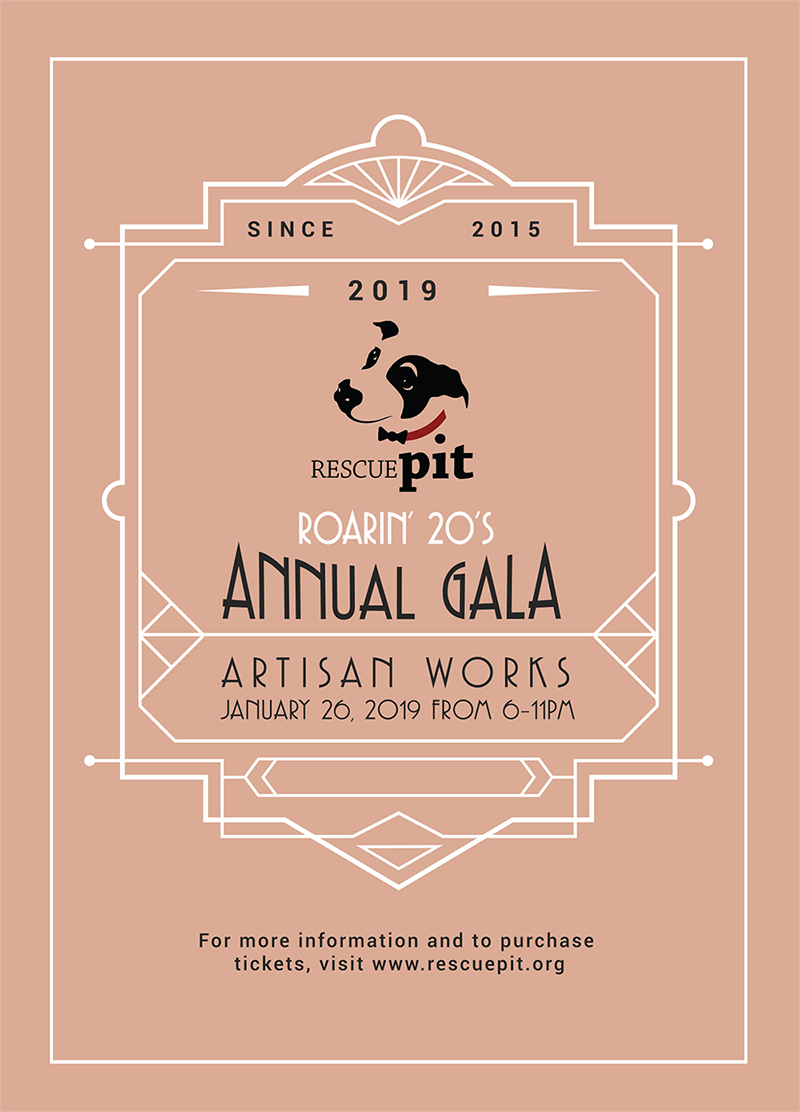 Rescue Pit Gala 2019 Invitation