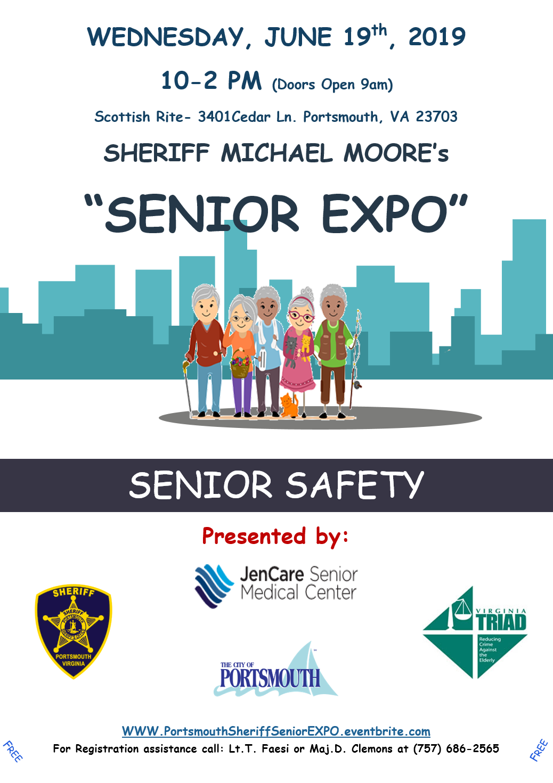 Sheriff Michael A Moore - Senior Expo