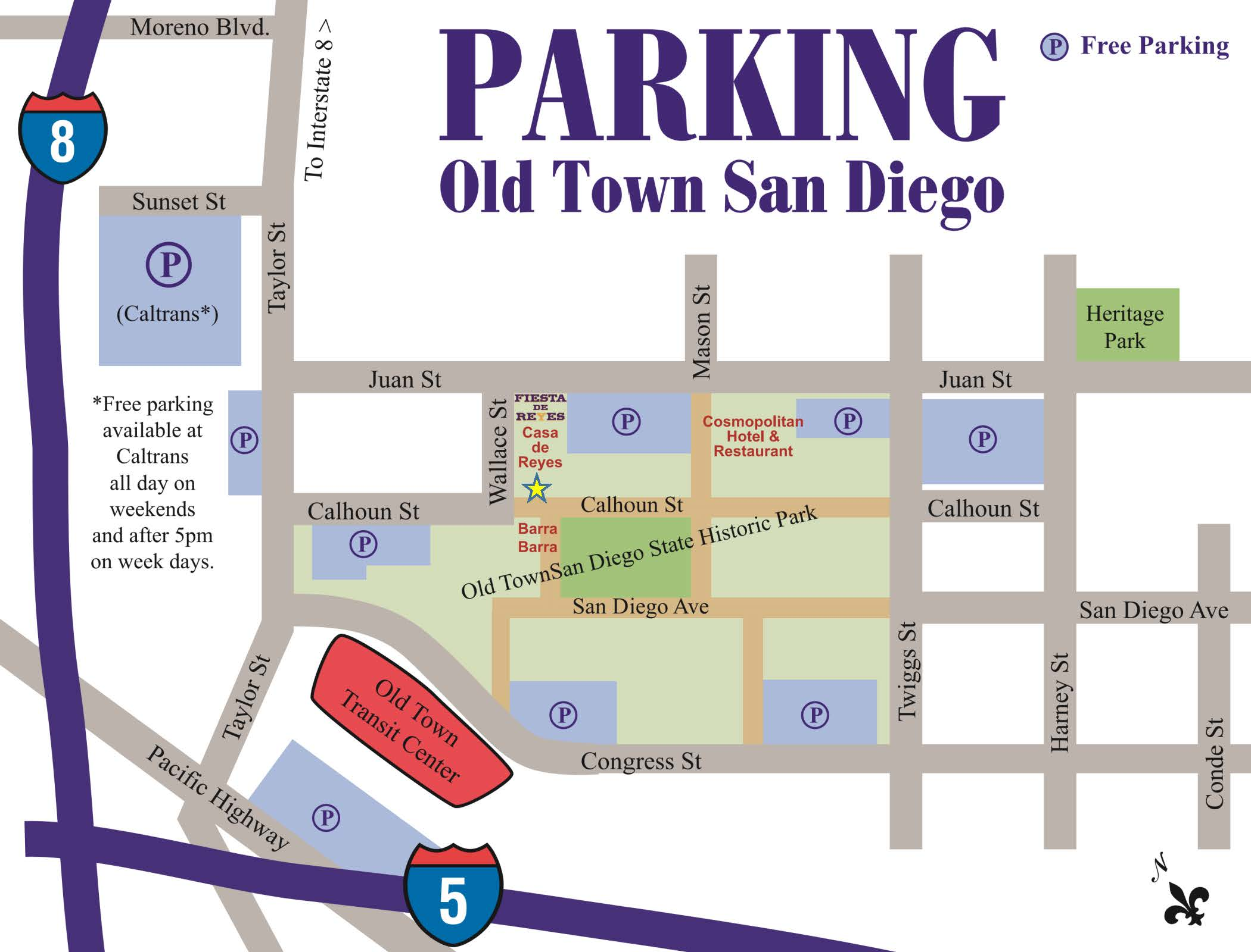 Old Town Parking