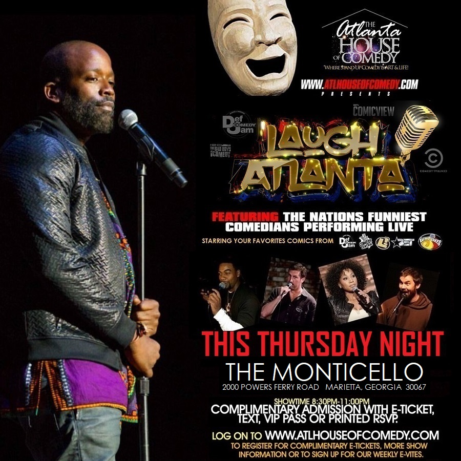 Laugh Atlanta presents Thursday Night Comedy Tickets