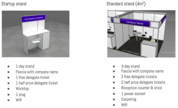 startup & standard stand