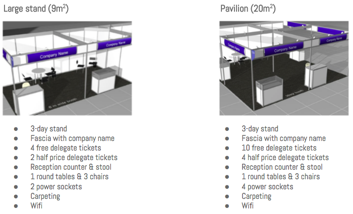 large & pavilion stand
