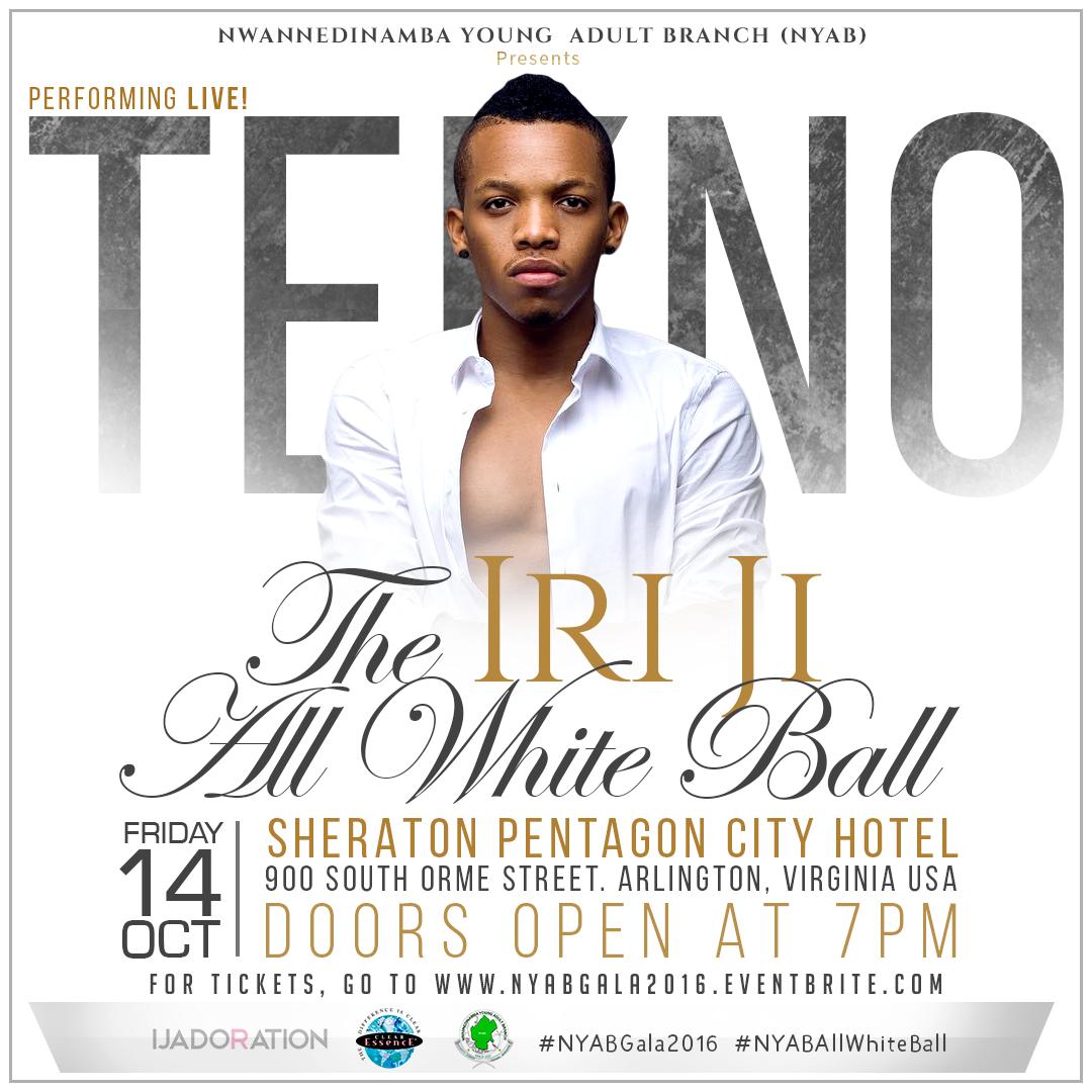 The Iri Gi All White Ball flyer