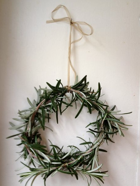 rosemary herb wreath