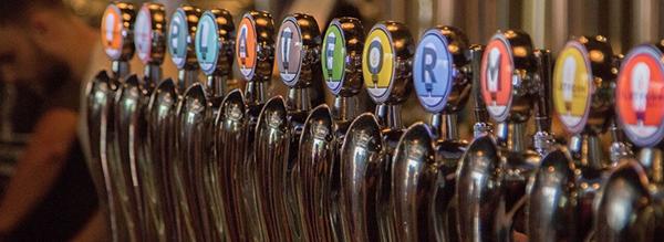 Platform Beer Taps