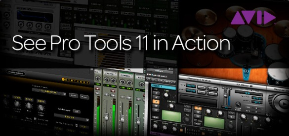 See Avid Pro Tools 11 in Action