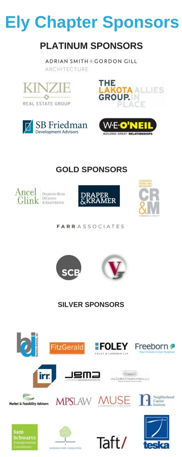 2019 Ely Chapter Sponsors