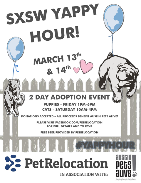 yappy hour flyer