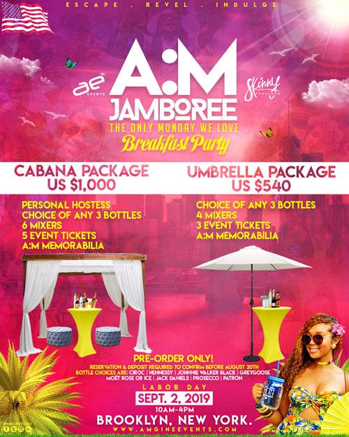 Cabana & Umbrella Packages
