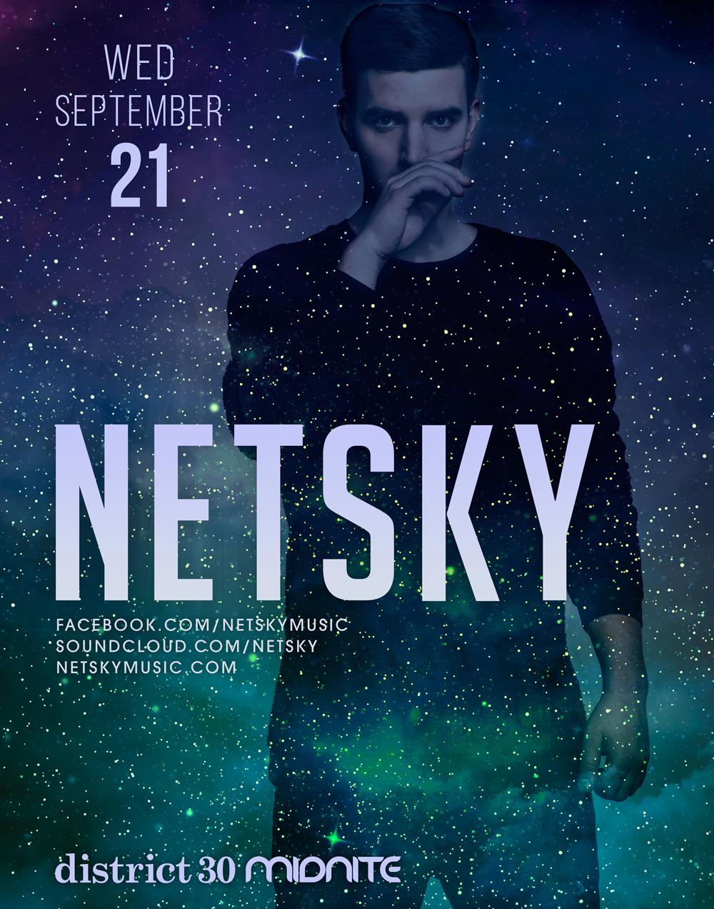 Netsky Sacramento D30 2016