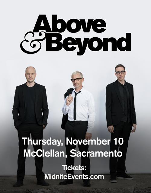 Above & Beyond Sacramento 2016