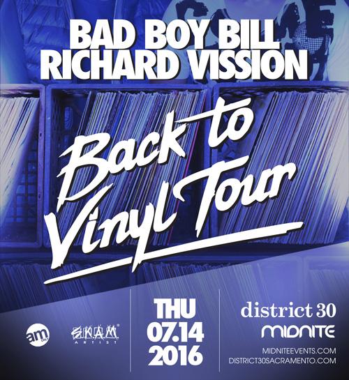 Bad Boy Bill Richard Vission Sacramento 2016