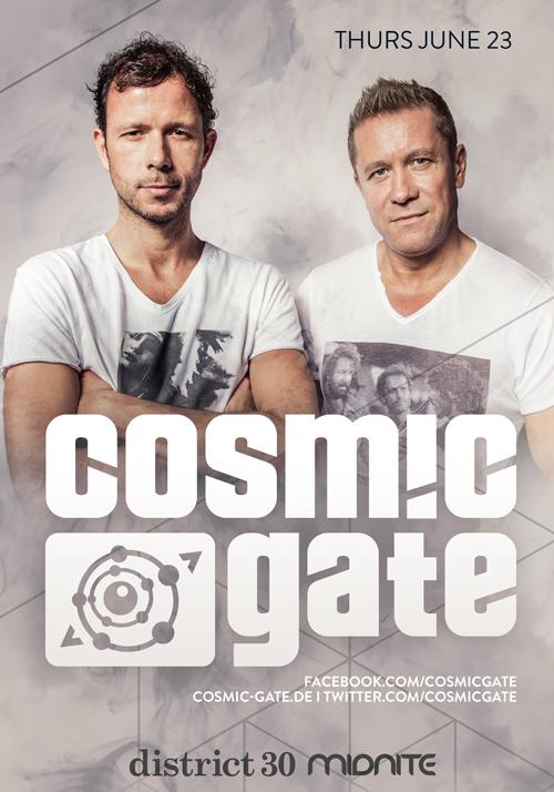 Cosmic Gate Sacramento D30 2016
