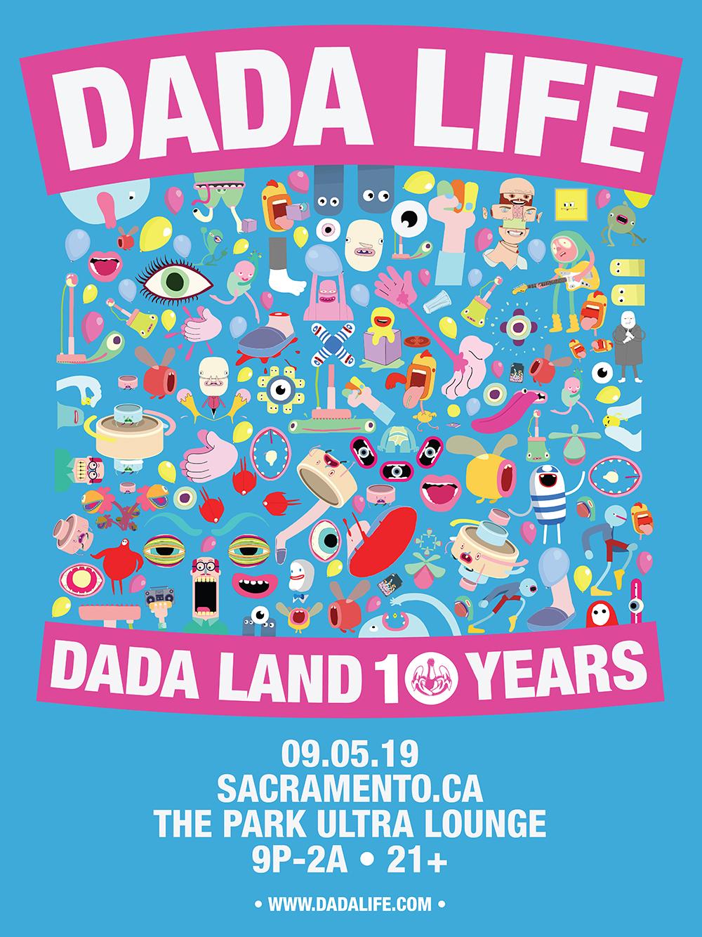DADA LIFE - Dada Land 10 Years Tour Tickets, Thu, Sep 5, 2019 at 9